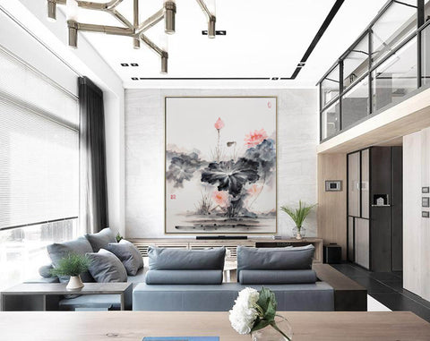 Image of Oversized wall art | Oversized abstract wall art  F287-7