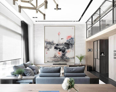 Oversized wall art | Oversized abstract wall art  F287-7