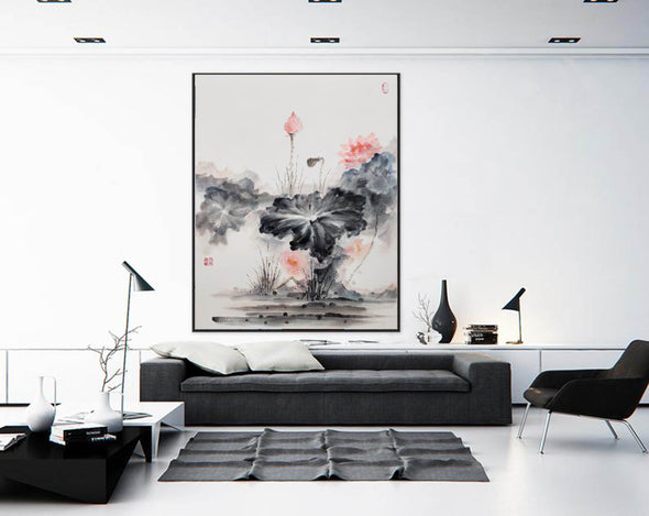 Oversized wall art | Oversized abstract wall art  F287-8