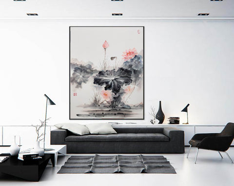 Image of Oversized wall art | Oversized abstract wall art  F287-8
