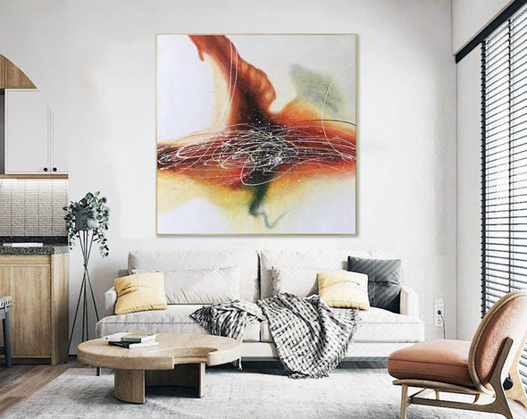 Original Abstract Painting | Large Wall Art Abstract Painting F391-4