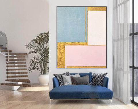 Painting on Canvas Modern Wall Decor Contemporary Art | Abstract Painting F394-5