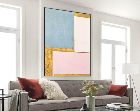 Painting on Canvas Modern Wall Decor Contemporary Art | Abstract Painting F394-9