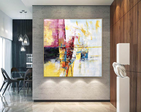Extra Large Wall Art Textured Painting Original Painting | Abstract Painting F395-6