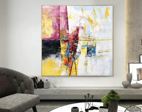 Image of Extra Large Wall Art Textured Painting Original Painting | Abstract Painting F395-8