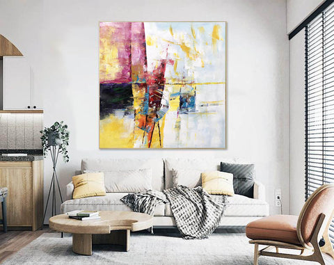 Extra Large Wall Art Textured Painting Original Painting | Abstract Painting F395-9