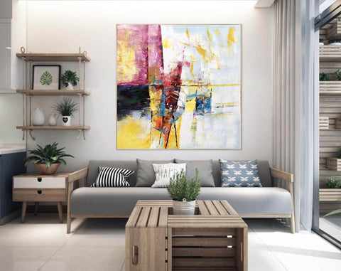 Image of Extra Large Wall Art Textured Painting Original Painting | Abstract Painting F395-2