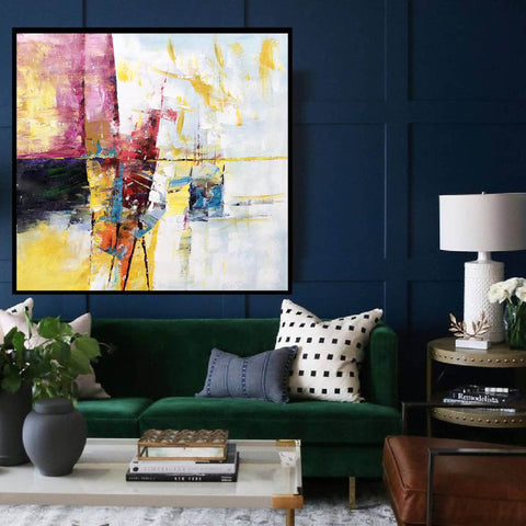 Image of Extra Large Wall Art Textured Painting Original Painting | Abstract Painting F395-3