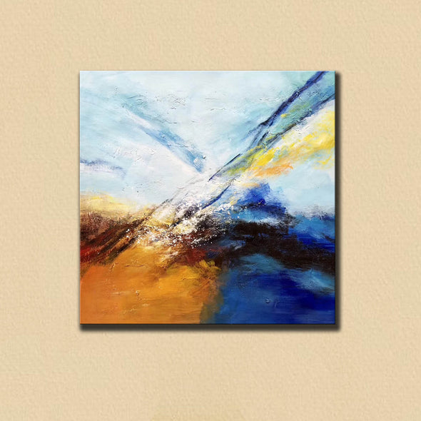 Abstract painting | Large oil painting F396-5