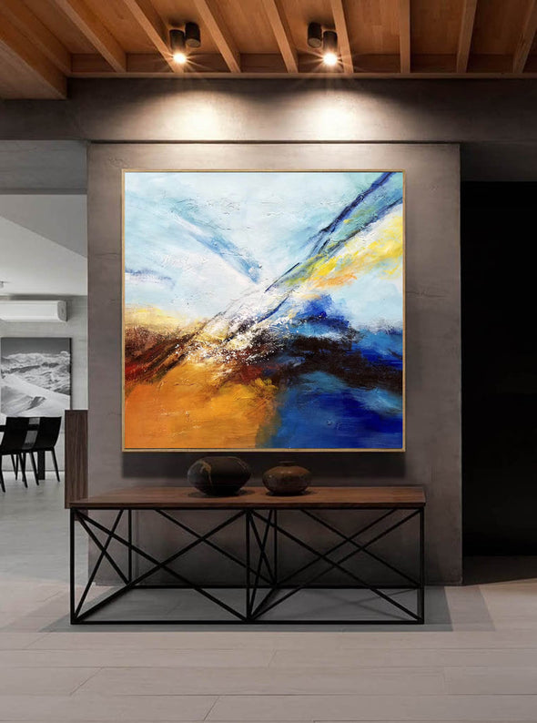 Abstract painting | Large oil painting F396-6