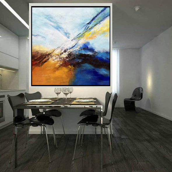 Abstract painting | Large oil painting F396-7