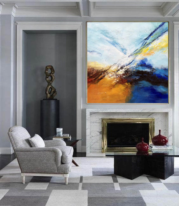 Abstract painting | Large oil painting F396-2