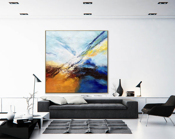Abstract painting | Large oil painting F396-8