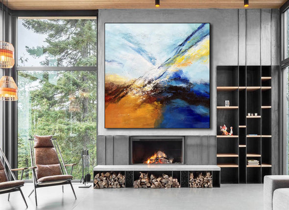Abstract painting | Large oil painting F396-3