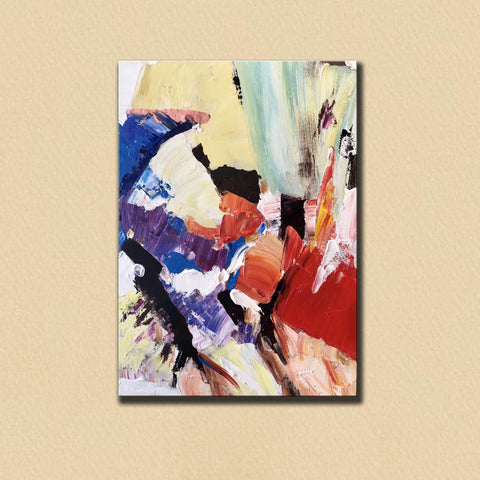 Image of Large Painting on Canvas | Extra Large Painting on Canvas F397-3