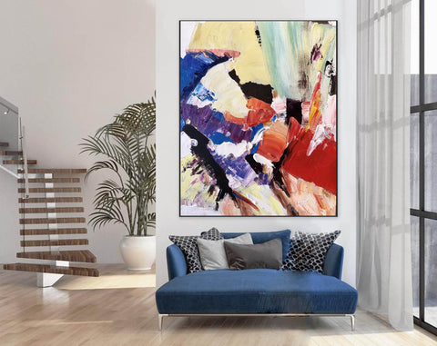Image of Large Painting on Canvas | Extra Large Painting on Canvas F397-5