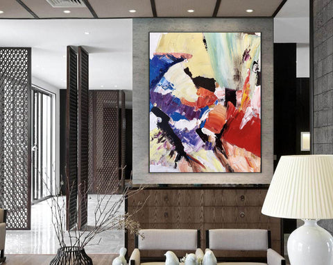 Image of Large Painting on Canvas | Extra Large Painting on Canvas F397-2