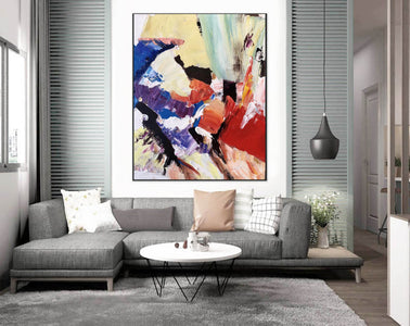 Large Painting on Canvas | Extra Large Painting on Canvas F397-1