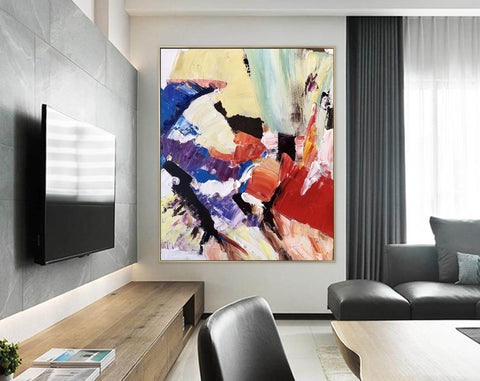 Image of Large Painting on Canvas | Extra Large Painting on Canvas F397-7