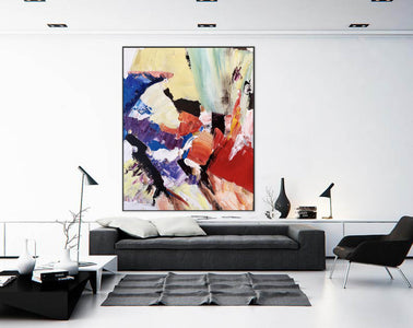 Large Painting on Canvas | Extra Large Painting on Canvas F397-8