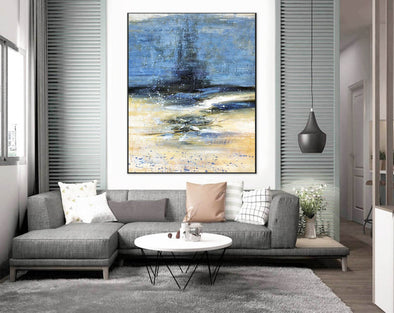 Large canvas art | Huge canvas painting F398-2