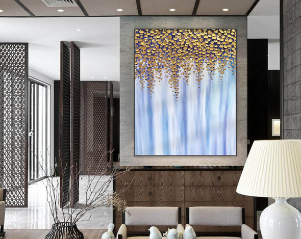 Oil large painting | Overszie Original Abstract Painting on Canvas F399-2