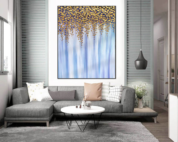 Oil large painting | Overszie Original Abstract Painting on Canvas F399-1