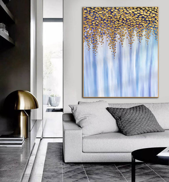 Oil large painting | Overszie Original Abstract Painting on Canvas F399-6