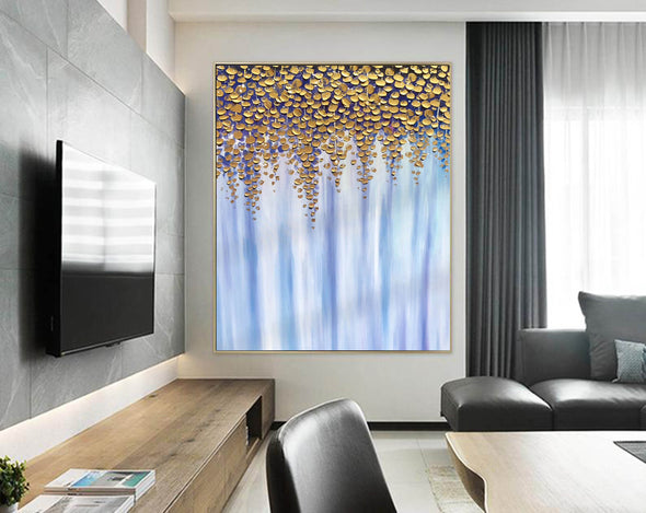 Oil large painting | Overszie Original Abstract Painting on Canvas F399-7