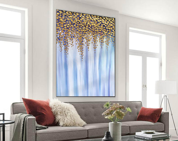 Oil large painting | Overszie Original Abstract Painting on Canvas F399-8