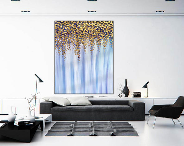 Oil large painting | Overszie Original Abstract Painting on Canvas F399-9