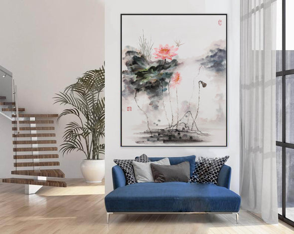 Extra large wall art | Large abstract painting F288-2