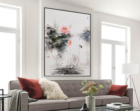 Extra large wall art | Large abstract painting F288-6