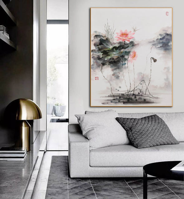 Extra large wall art | Large abstract painting F288-9