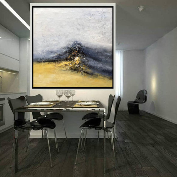 Abstract Painting | Original Large Acrylic Canvas Wall Art F402-8
