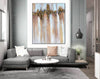 Abstract Painting | Original Large Acrylic Canvas Wall Art F403-1