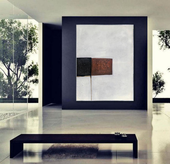 Expressionism Modern Painting Wall Art on Canvas,Original textured F404-6