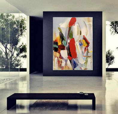 Abstract painting | Large oil painting F405-2