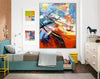 Oversized art | Original art work F408-7