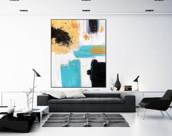 Extra Large Wall Art | Original Painting F409-8