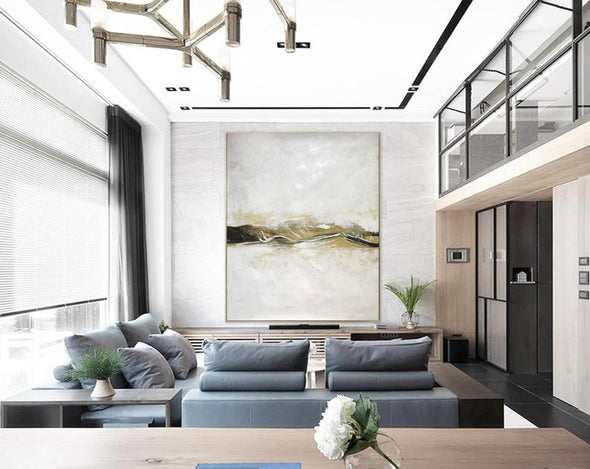Hand-painted Large Wall Art Decor | Extra Large Oil painting F415-7