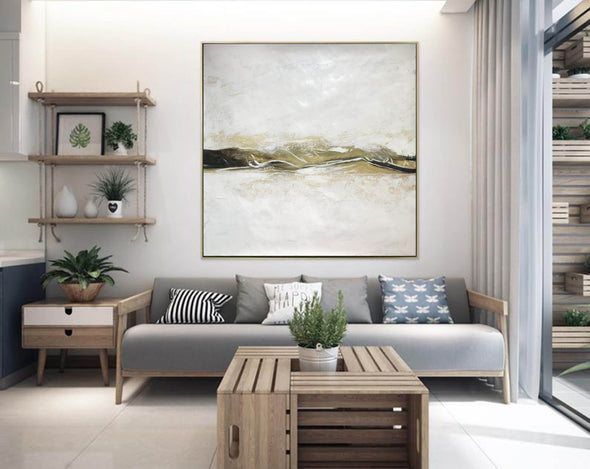 Large Original Abstract Oil Painting | Contemporary Art F417-8