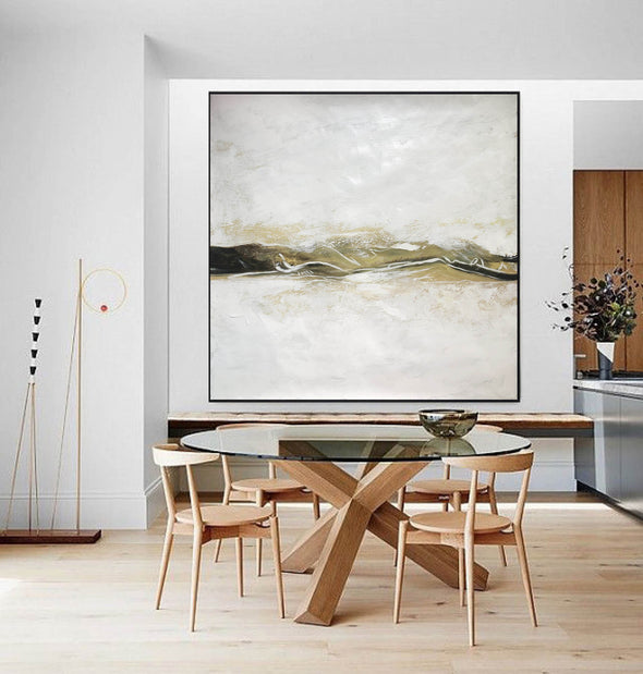 Large Original Abstract Oil Painting | Contemporary Art F417-10