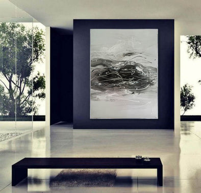 Abstract painting | Canvas large F420-2