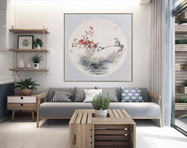 Large original abstract painting | Oversized wall art F272-1