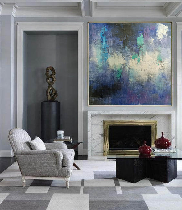 Modern oil paintings | Modern abstract painting F422-7