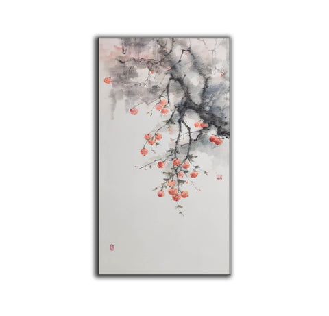 Large contemporary paintings, Large modern canvas wall art F215-3