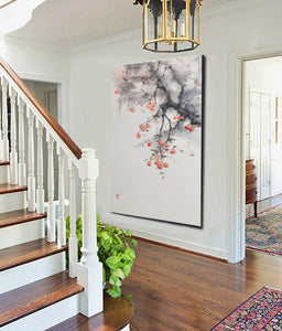 Large contemporary paintings, Large modern canvas wall art F215-5