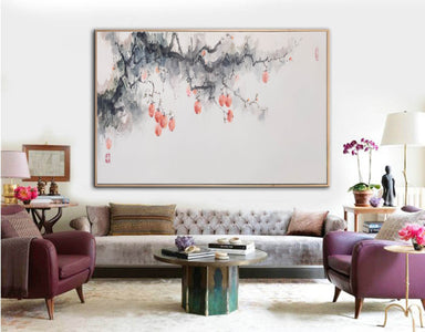 Large canvas art, Large wall art, Large paintings F216-10
