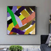Oil on canvas art | Abstract acrylic painting on canvas F255-6